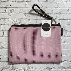 PRENE   Pink neoprene clutch / pouch
